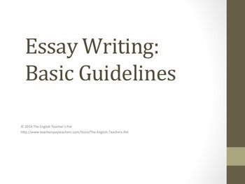 How to write an introduction for essay